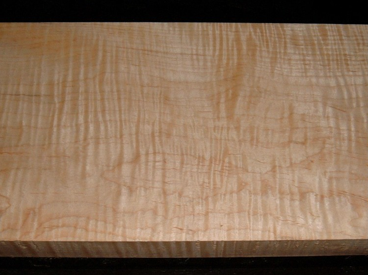 S-2249, +1-5/8x7-1/2x29, Curly Tiger Maple